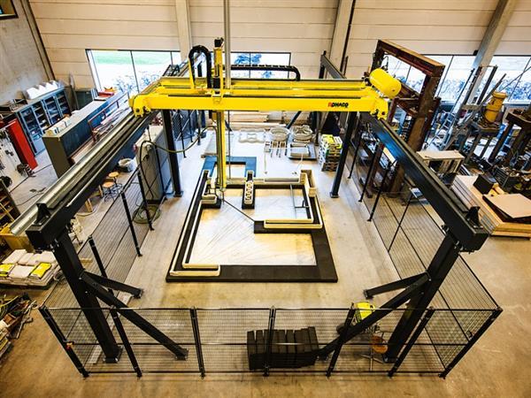 超大型混凝土3D打印机震撼登场!