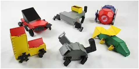 3D打印:折叠机器人
