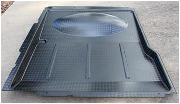 直升机大型零件3D打印的PSU复合塑料模具注塑过程