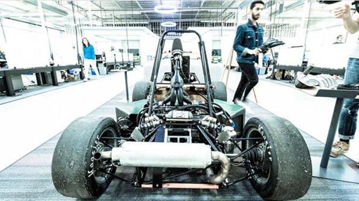 美国大学生方程式 CSU 3D打印提升引擎性能