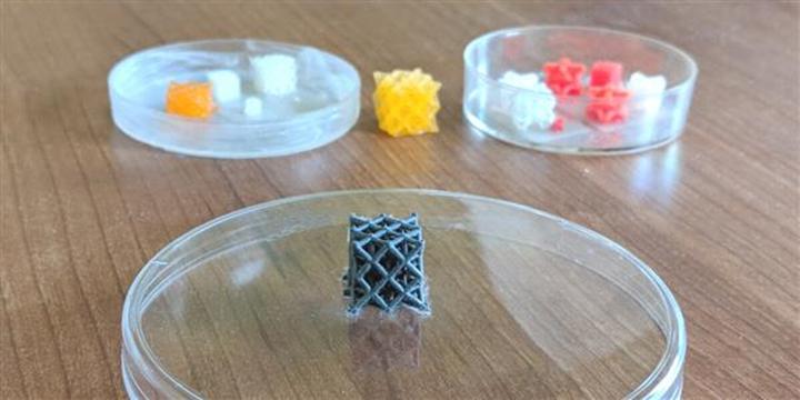 超级3D打印材料可以远程打开或关闭,可控制声音和振动 - 图片