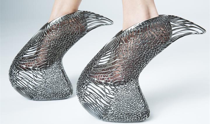 3D打印高跟鞋Mycelium Shoe,前卫与舒适兼俱 - 图片