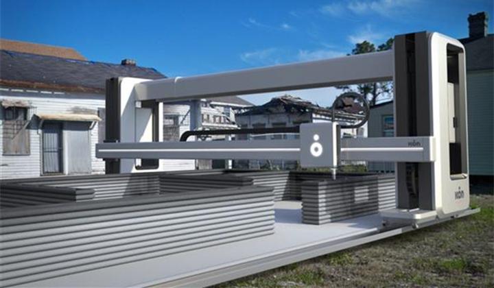 ICON推出大型Vulcan II 3D打印机,打造经济适用房 - 图片