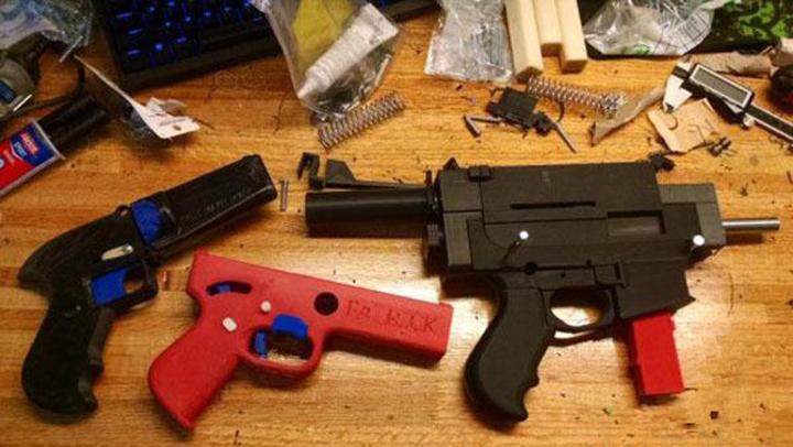 不要在来咨询玩具枪可以金属3D打印吗?看看国外做了什么 - 图片