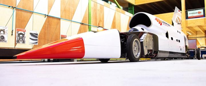 超音速陆地车借助3D打印将在今年10月挑战805公里/小时的世界记录