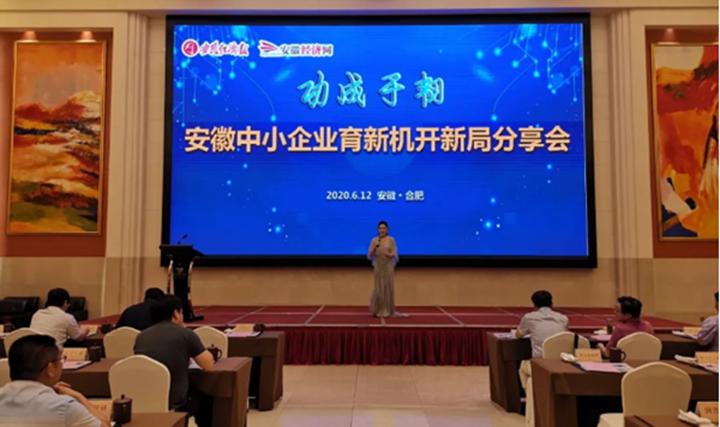 """安徽魔猴三维科技有限责任公司CEO张勇荣获""""安徽省十佳品牌人物"""""""