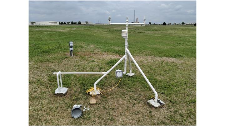俄克拉荷马州科学家使用3D打印制作低成本的气象站