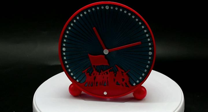 魔猴网3D打印案例:3D打印创意时钟摆件