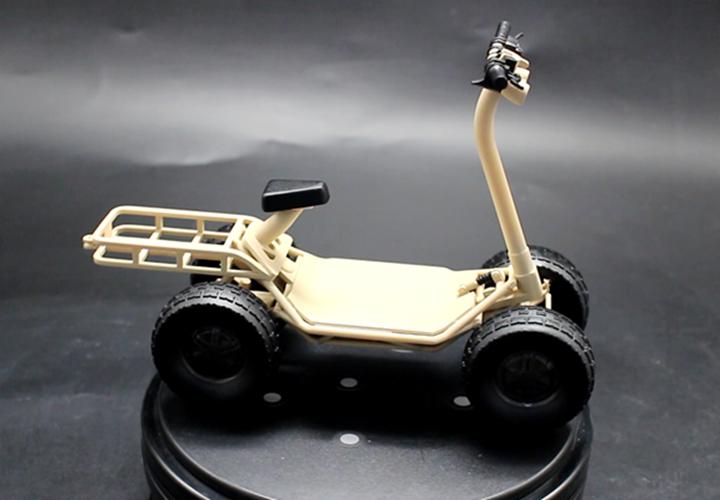 魔猴网3D打印案例:3D打印创意车模型