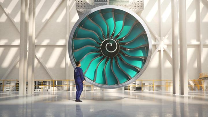 GKN使用3D打印技术生产出罗尔斯·罗伊斯发动机的压缩机壳
