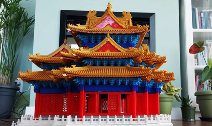 当古典建筑遇上现代科技—3D打印新技术推动传统古建文化传承