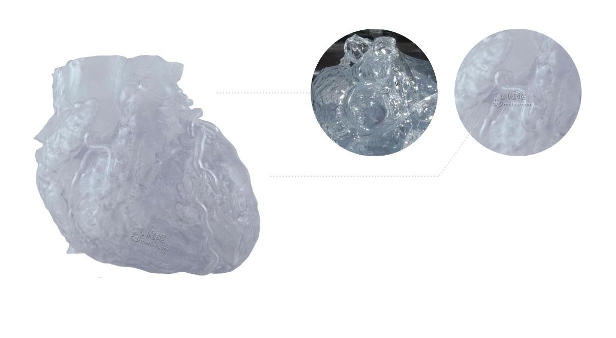 心脏模型3D打印——把我的心掏出来给你