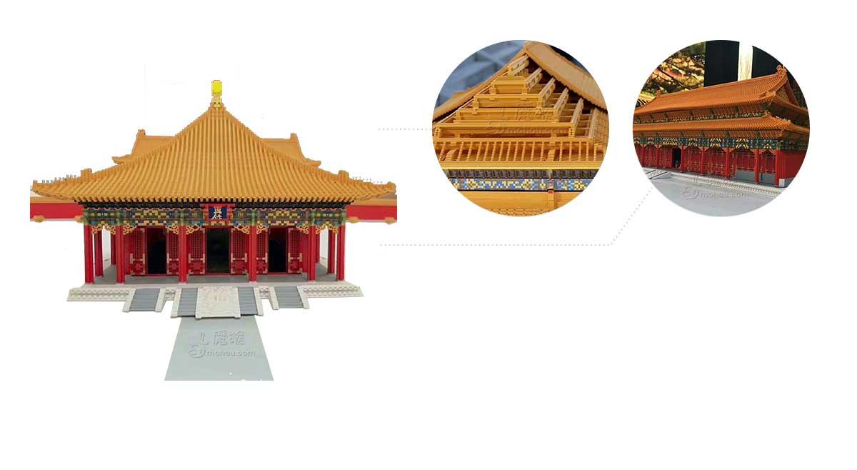 惊!故宫出现微缩故宫,3D打印三大殿让故宫披上科技之光