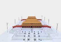 魔猴3D打印微缩故宫三大殿