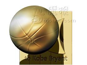致敬我科,王者科比NBA奖杯