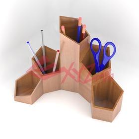 Pentagonal Desk Organizer Set