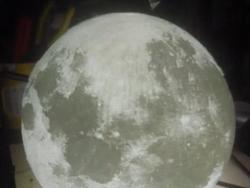 月球灯——3D打印模型